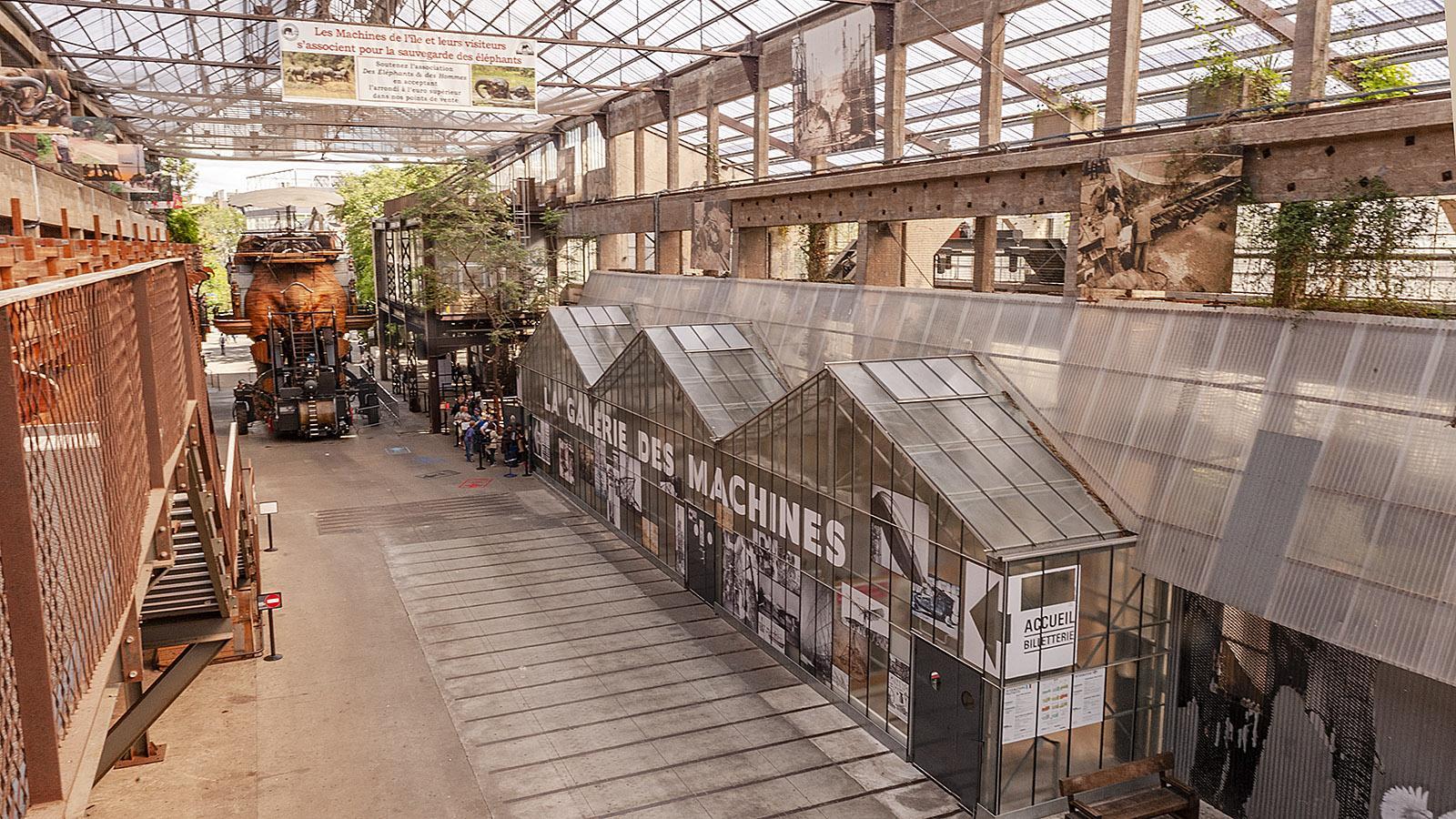 Jean Blaise, Ile de Nantes Les Machines de l'Ile. Foto: Hilke Maunder