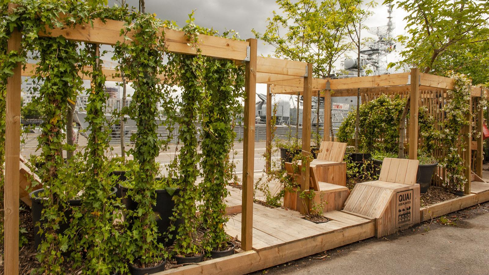 Voyage à Nantes: Quai des Plantes. Foto: Hilke Maunder