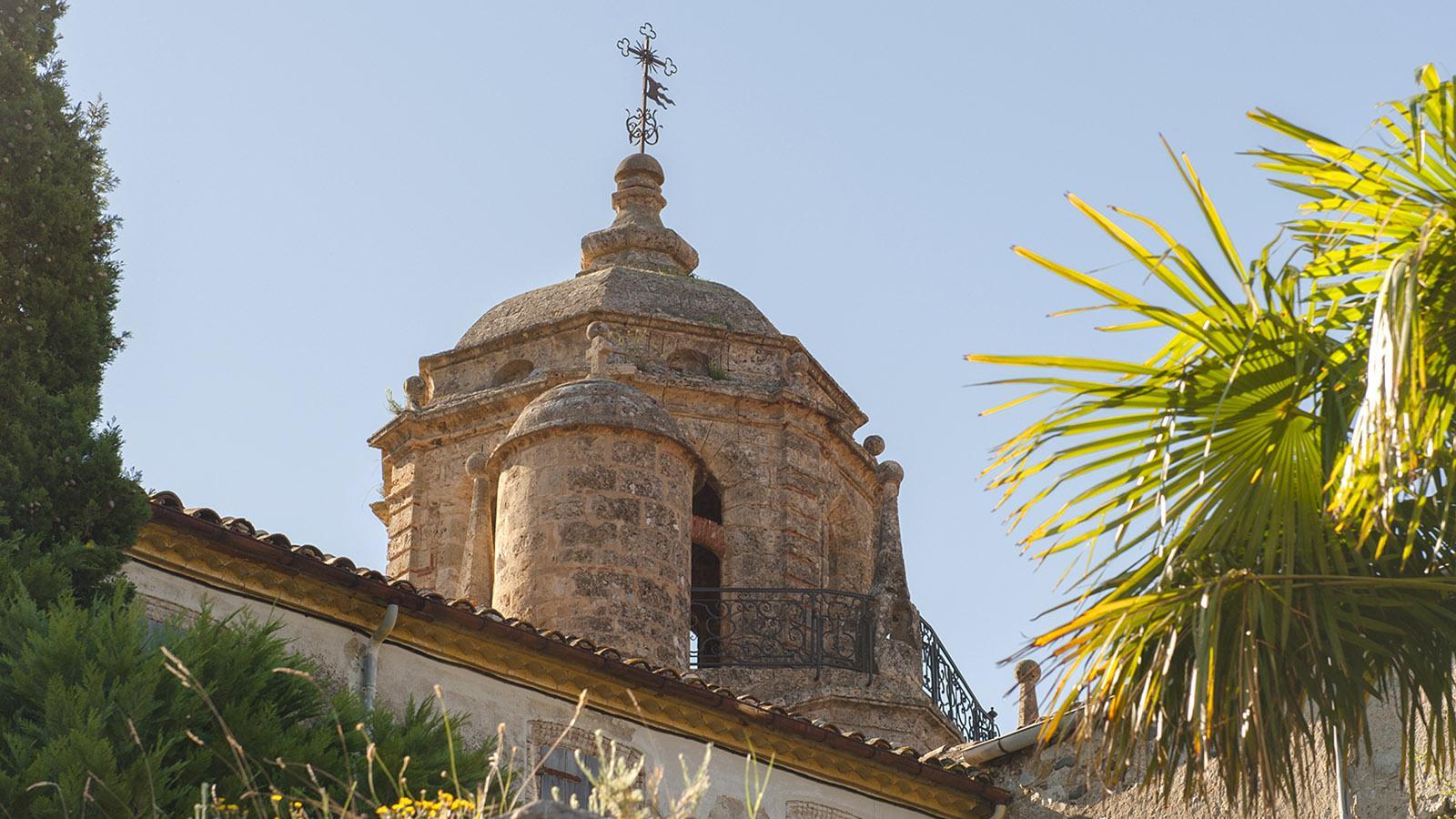 Saint-Paul-de-Fenouillet: der Glockenturm des Chapître. Foto: Hilke Maunder