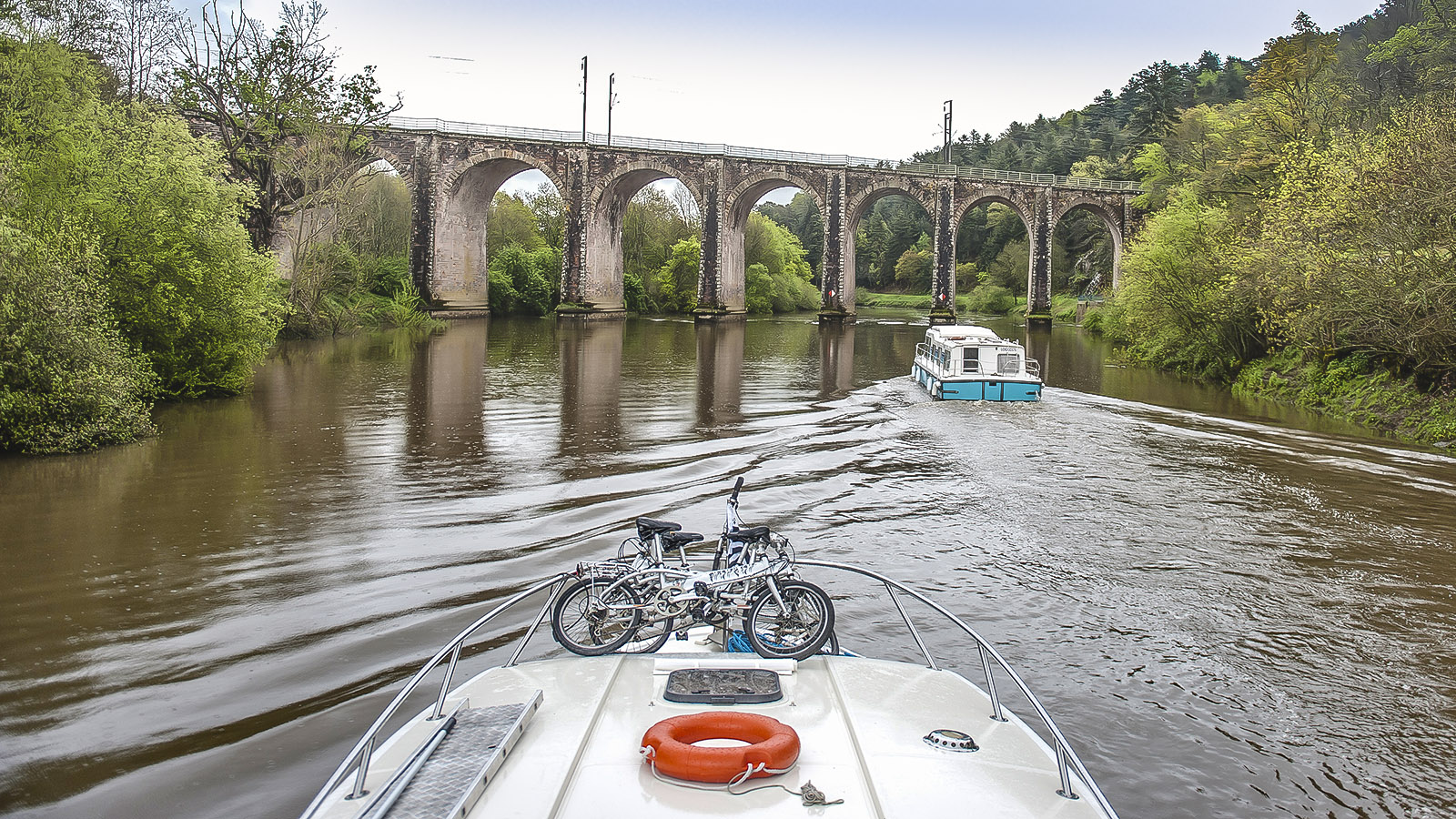 Das Viadukt von Corbinières. Foto: Hilke Maunder