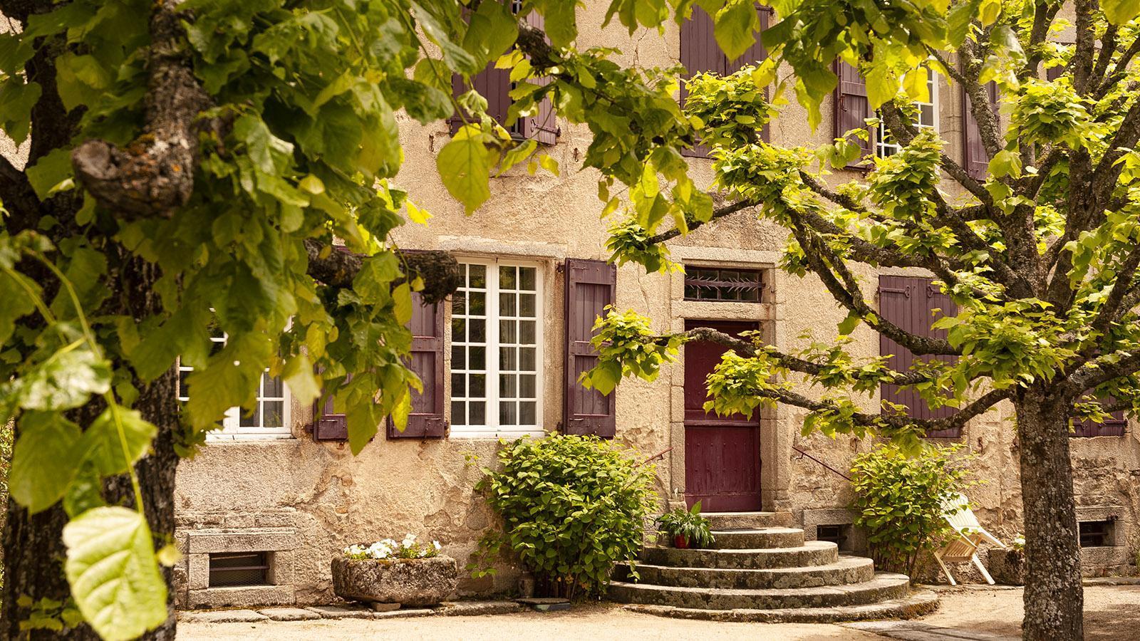 Aumont-Aubrac: Malerisch, dieses alte Haus. Foto: Hilke Maunder