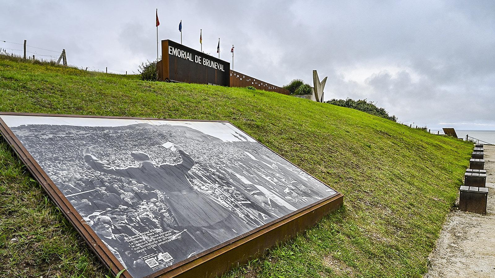 Die Gedenkstätte von Bruneval. Foto: Hilke Maunder