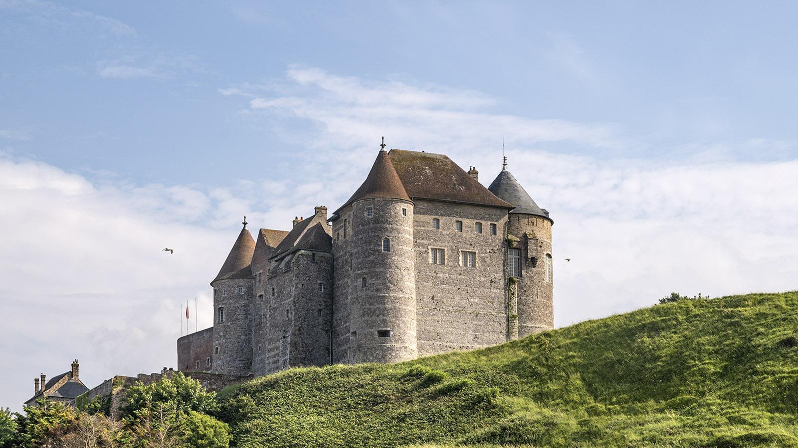 Die Burg von Dieppe. Foto: Hilke Maunder