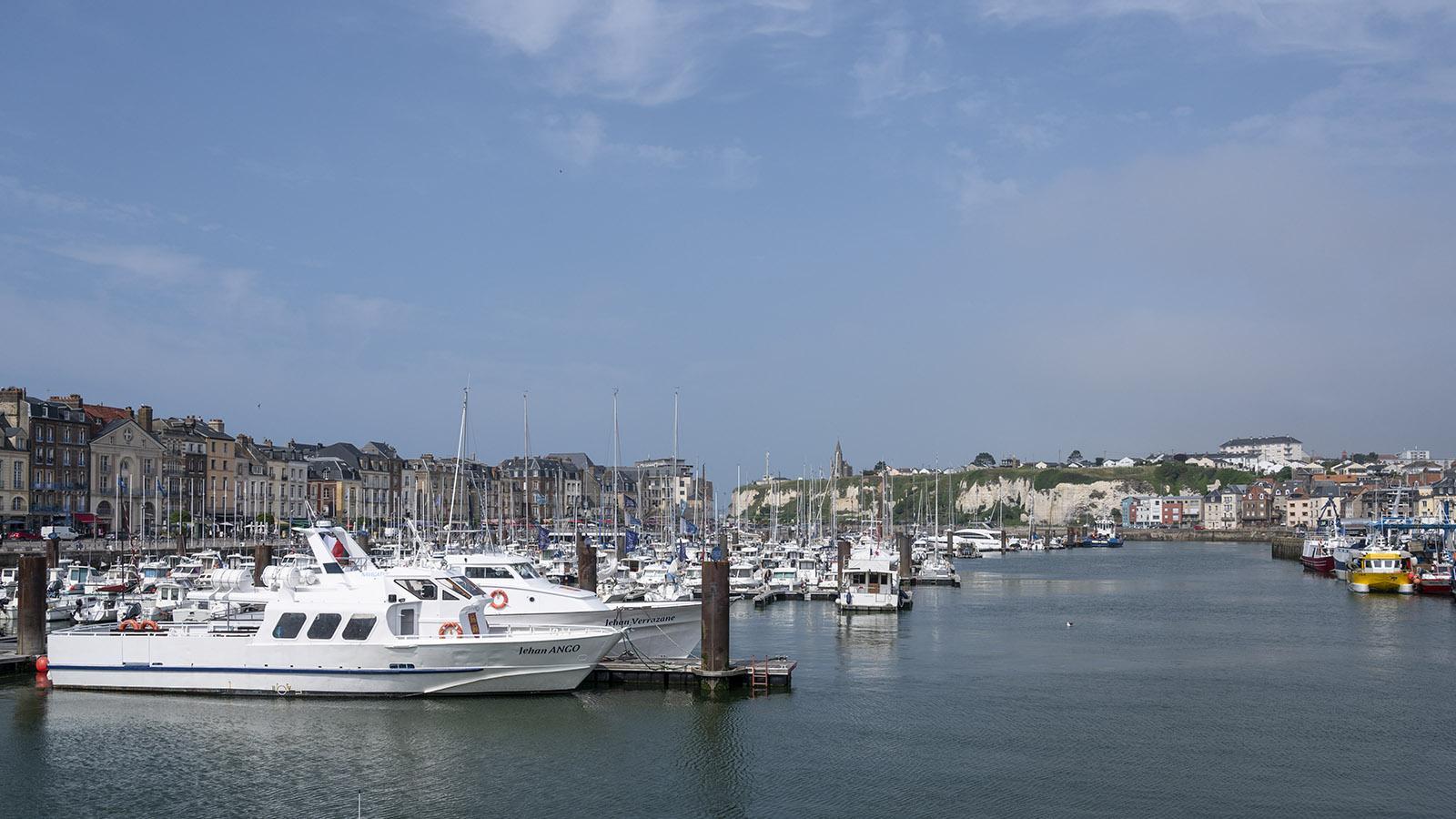 Der Hafen von Dieppe. Foto: Hilke Maunder