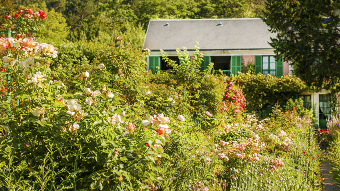 Monet in Giverny. Foto: Hilke Maunder