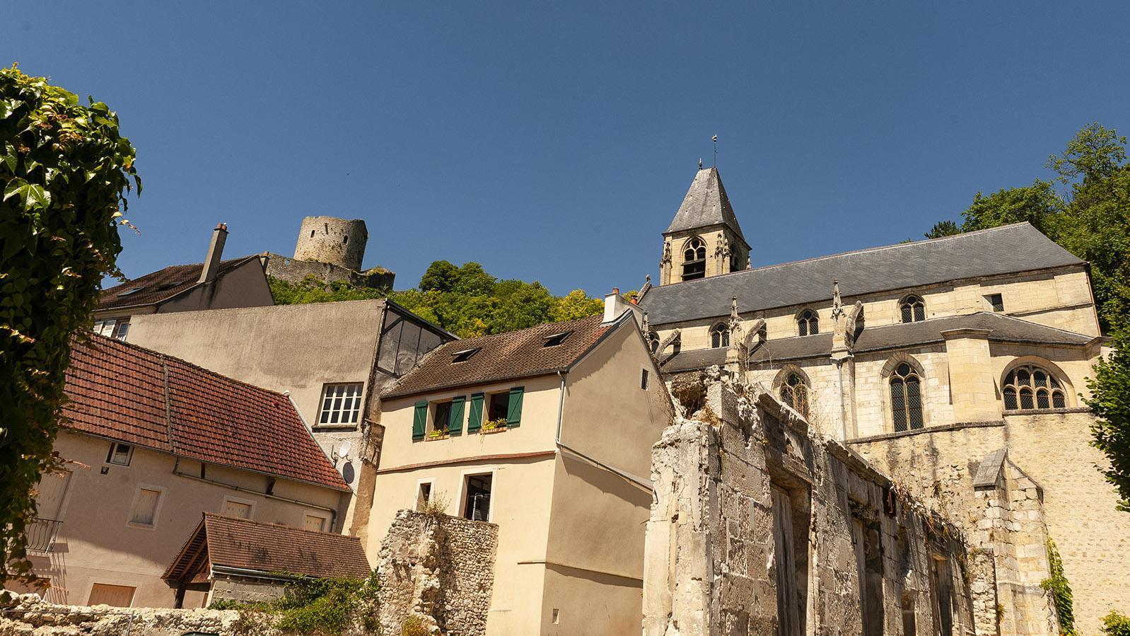 La Roche-Guyon: die Pfarrkirche. Foto: Hilke Maunder