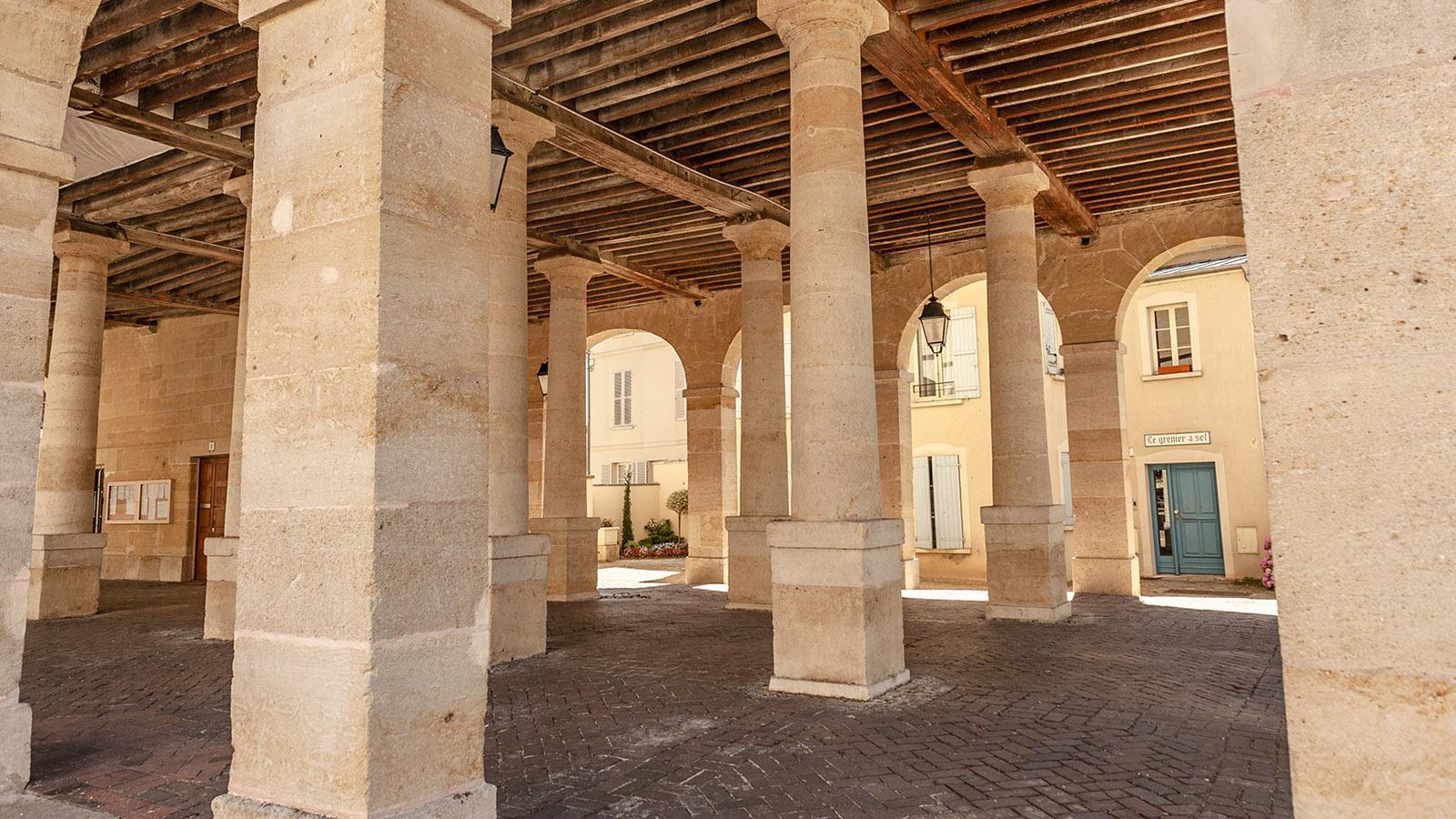 La Roche-Guyon: die Markthalle. Foto: Hilke Maunder