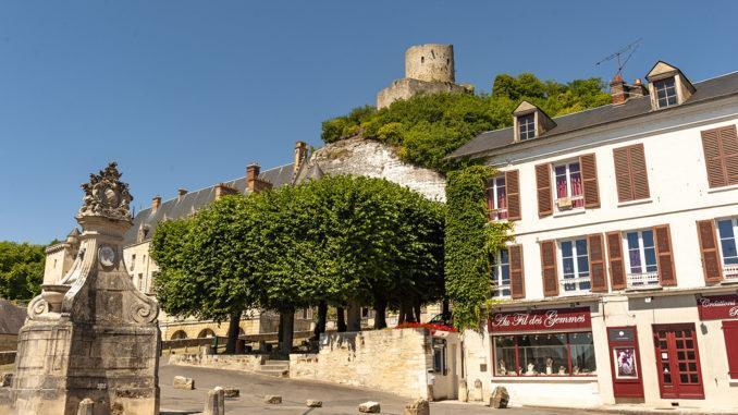 La Roche-Guyon im Tal der Seine gehört zu den schönsten Dörfern Frankreichs. Foto: Hilke Maunder