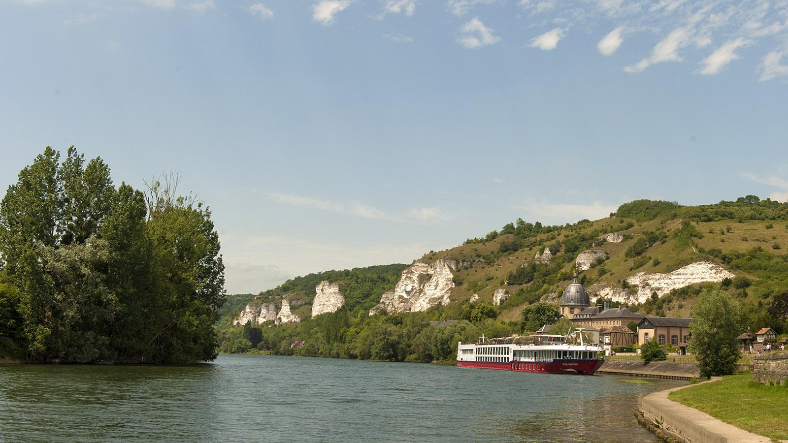 Die Seine bei Les Andelys. Foto: Hilke Maunder