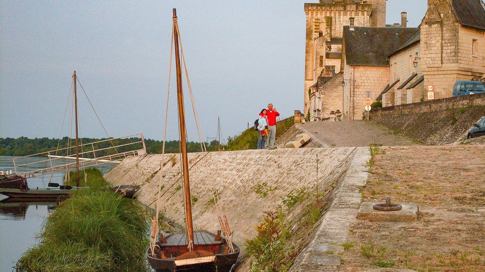 Flusskreuzfahrten in Frankreich: Die Loire bei Montsoreau. Foto: Hilke Maunder