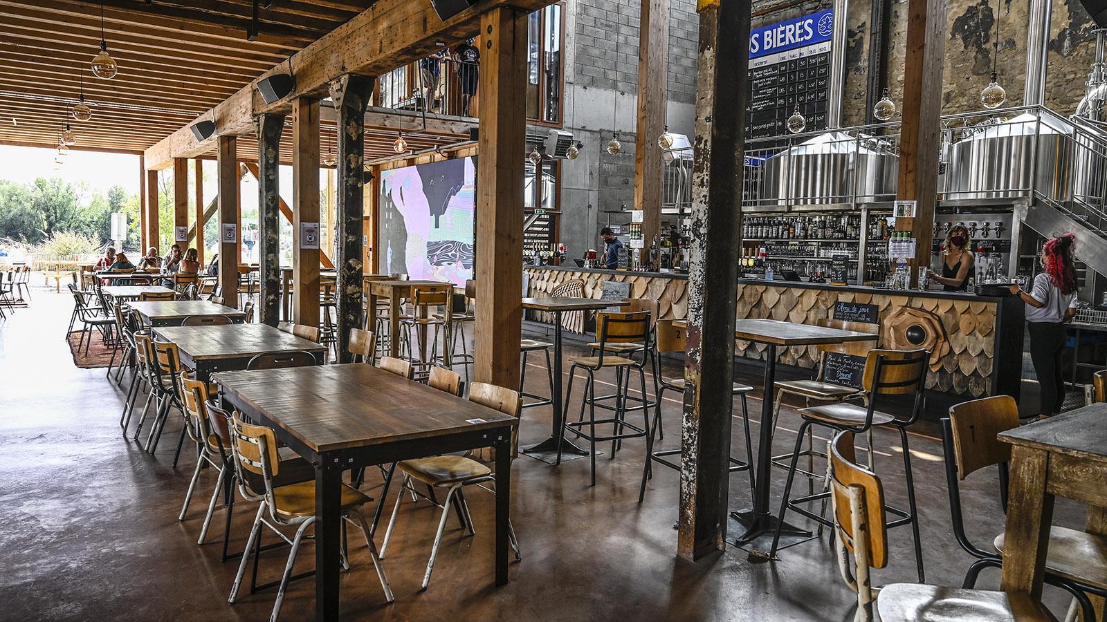Die Little Atlantic Brewery gehört zu den Ausstellungsorten der Voyage à Nantes. Foto: Hilke Maunder
