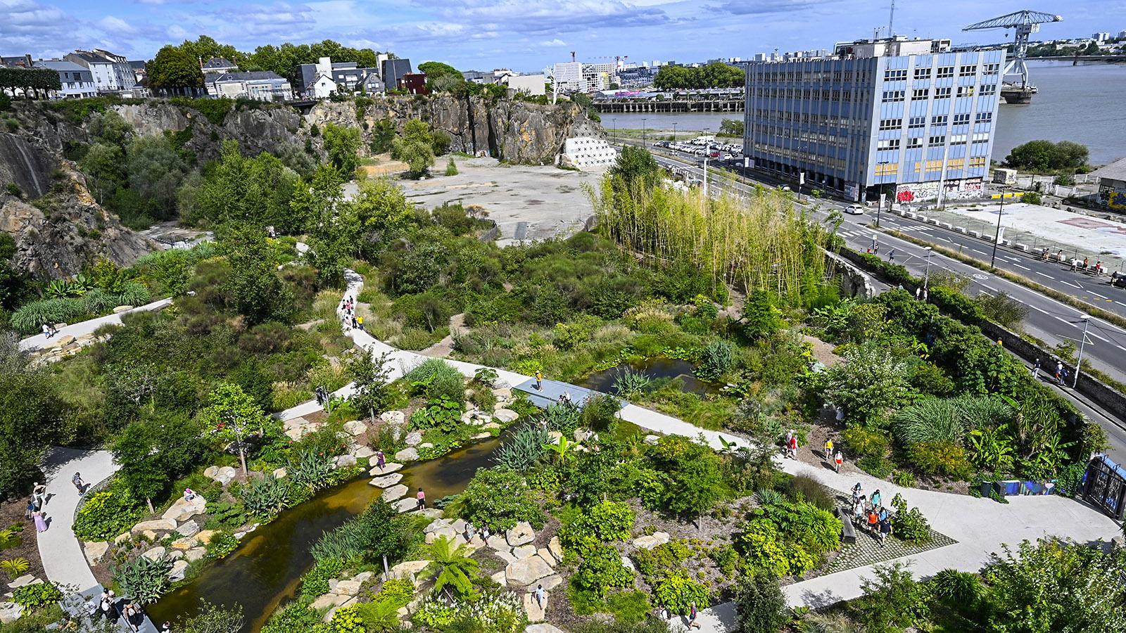 Le Voyage à Nantes. Direkt an der Loire: der Parc Extraordinaire. Foto: Hilke Maunder