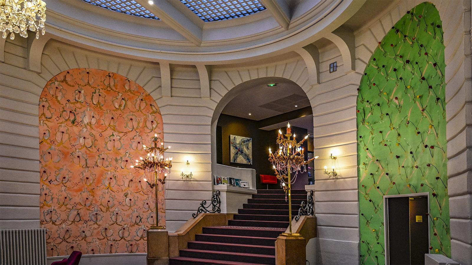 Le Voyage à Nantes: La tentation domestique im Oceania Hotel von Nantes. Foto: Hilke Maunder