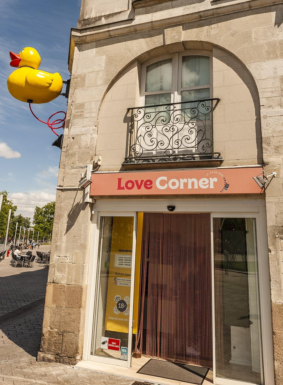 "Voyage à Nantes: ""enseignes"" - die Ente. Foto: Hilke Maunder"