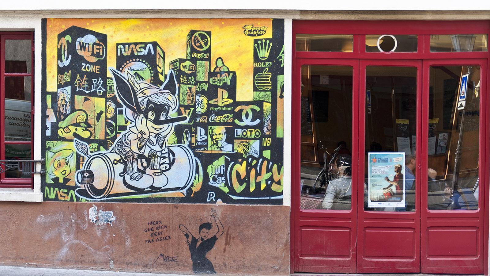 Street Art im 13e Arrondissement von Paris. Foto: Hilke Maunder