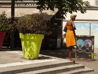 Paris, Belleville: An der Rue des Rigotes. Foto: Hilke Maunder
