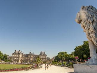 Paris, Jardin du Luxembourg: der Palais du Luxembourg. Foto: Hilke Maunder