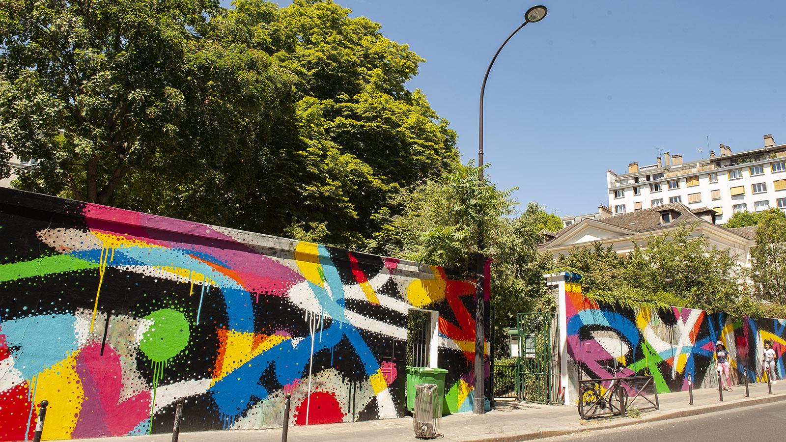 Paris, Menilmontant_Street Art_Foto_ HIlke Maunder