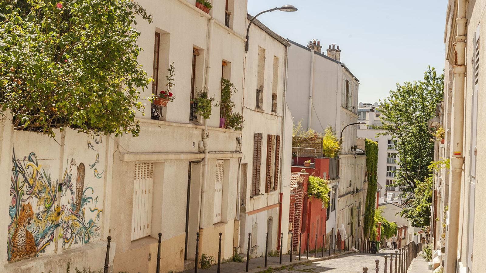 Paris, Menimontant. Foto: Hilke Maunder