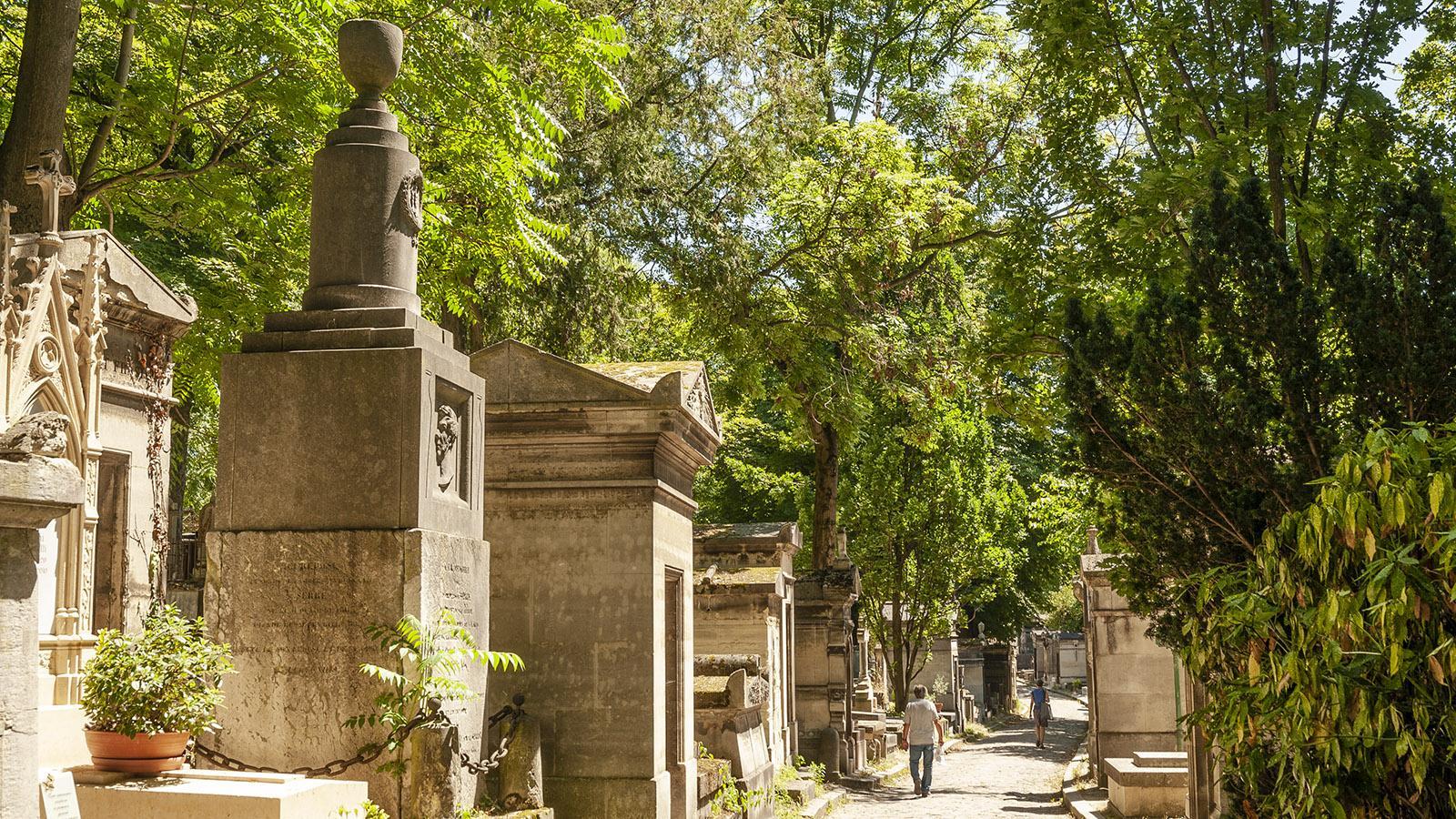 Paris: Friedhof Père Lachaise. Foto: Hilke maunder