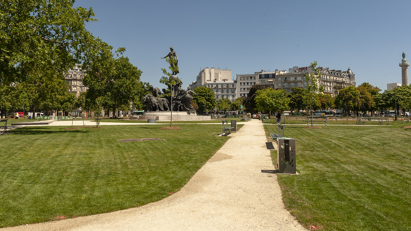 Die Place de la Nation. Foto: Hilke Maunder