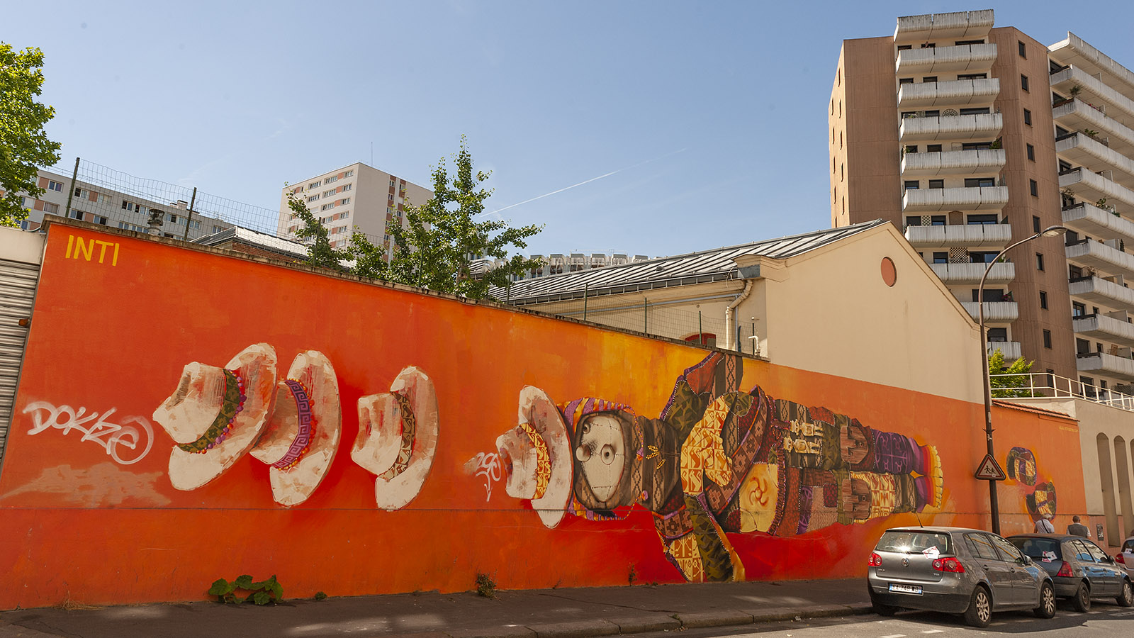 Tolbiac: Street Art ist allgegenwärtig. Foto: Hilke Maunder