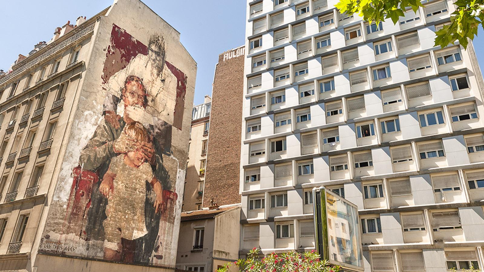 Paris 13e: Street Art. Foto: Hilke Maunder