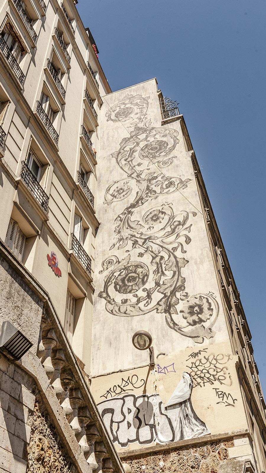 Tolbiac: Street Art in der Rue de Chevaleret