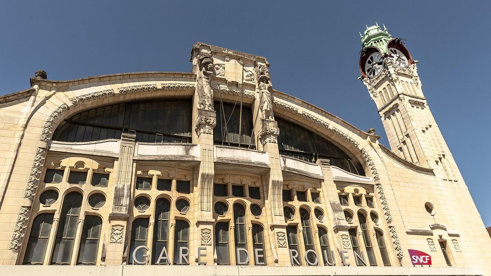 Rouen: Bahnhof. Foto: Hilke Maunder