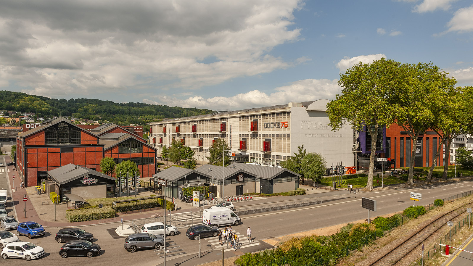 Rouen: das Shoppingcenter Docks 76. Foto: Hilke Maunder