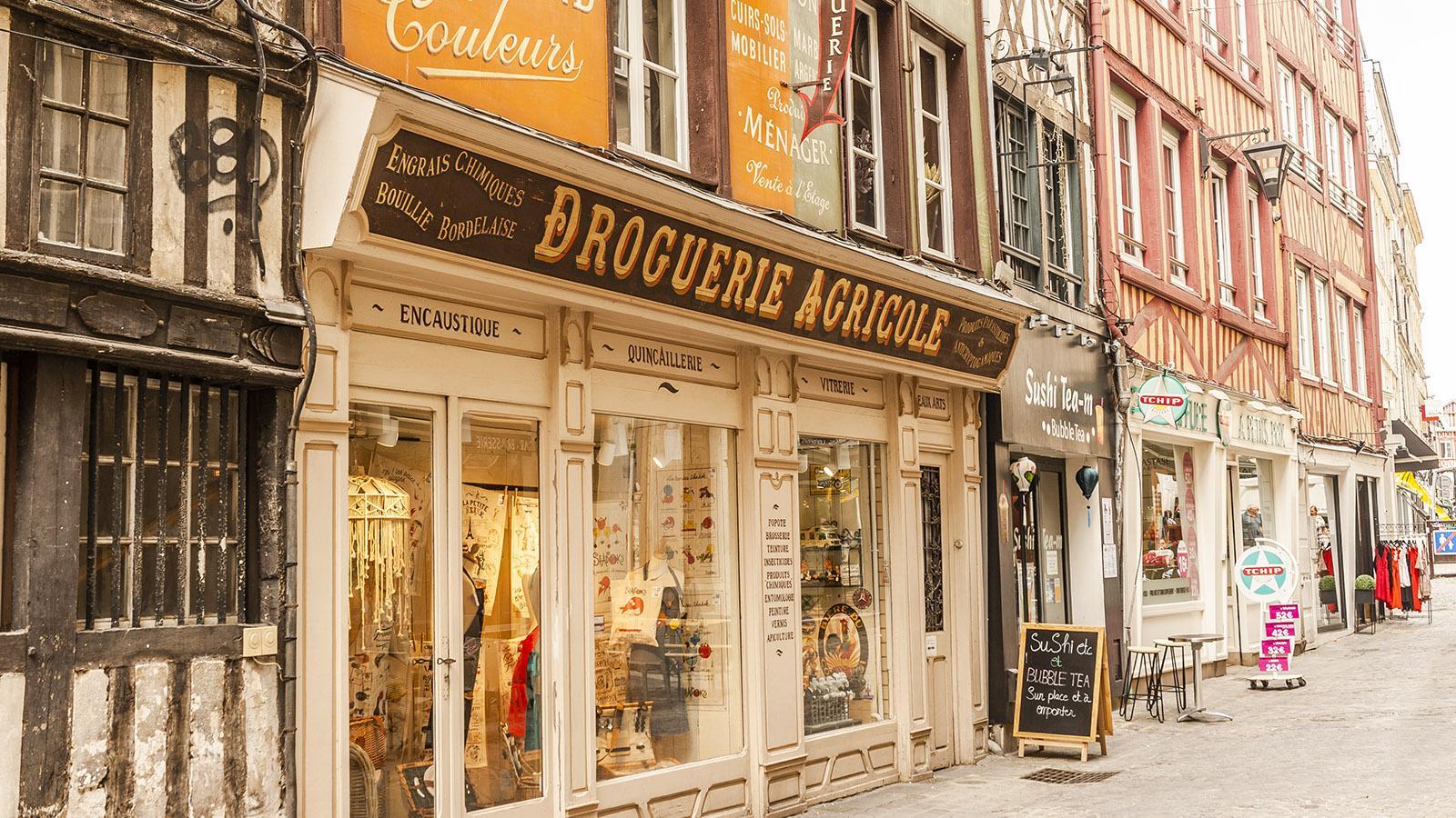 Rouen: Drogerie Agricole. Foto: Hilke Maunder