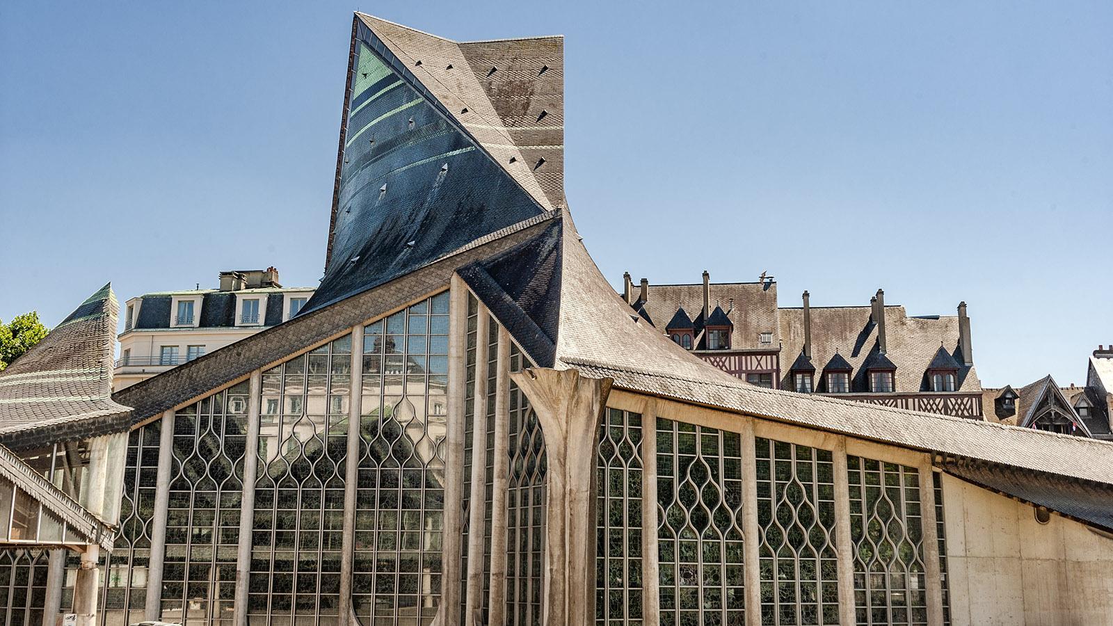 Rouen: Église Jeanne d'Arc. Foto: Hilke Maunder