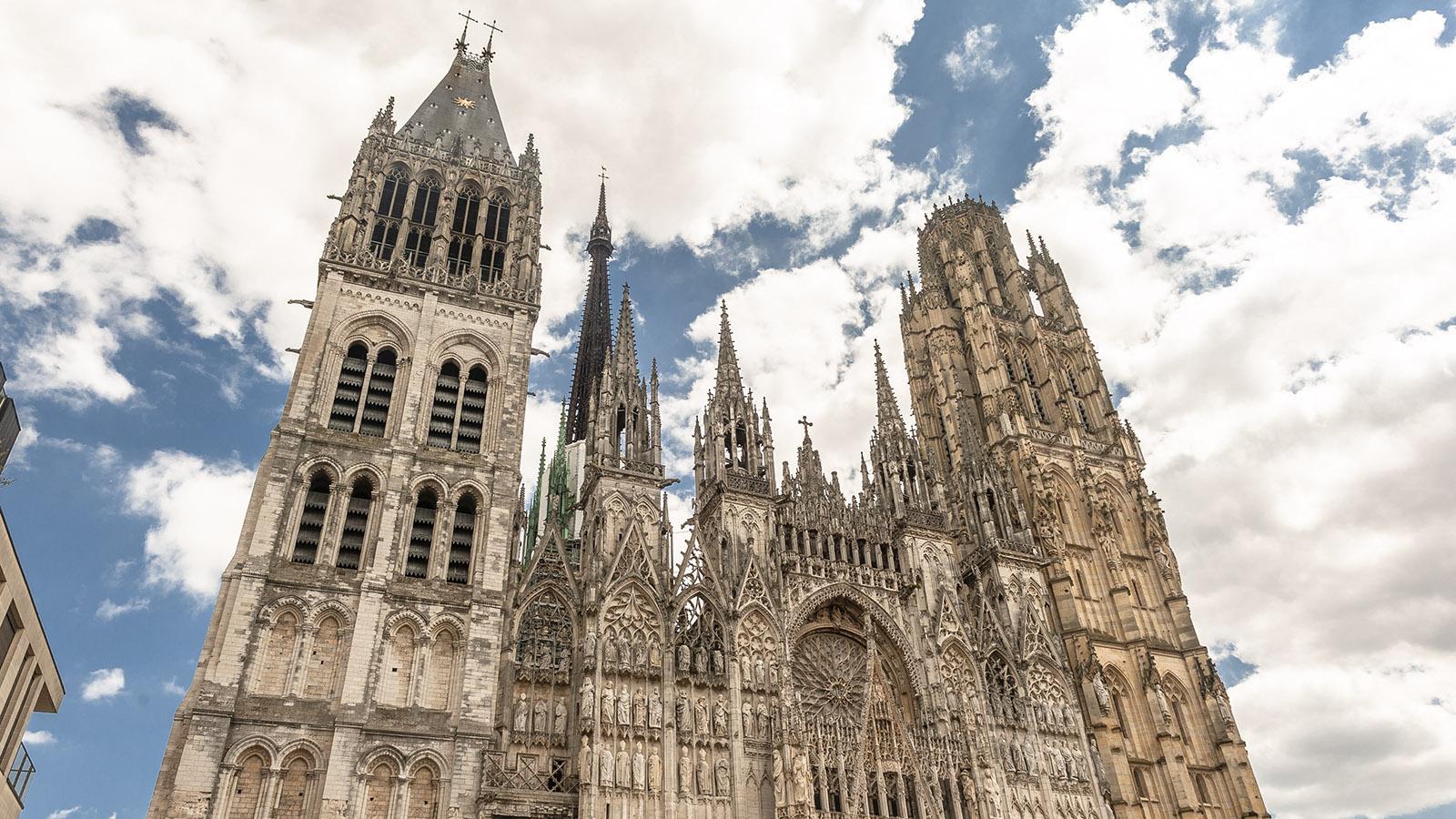 Rouen: die Westfassade der Kathedrale. Foto: Hilke Maunder