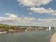 Rouen: der Blick von der Pont Gustave Flaubert. Foto: Hilke Maunder