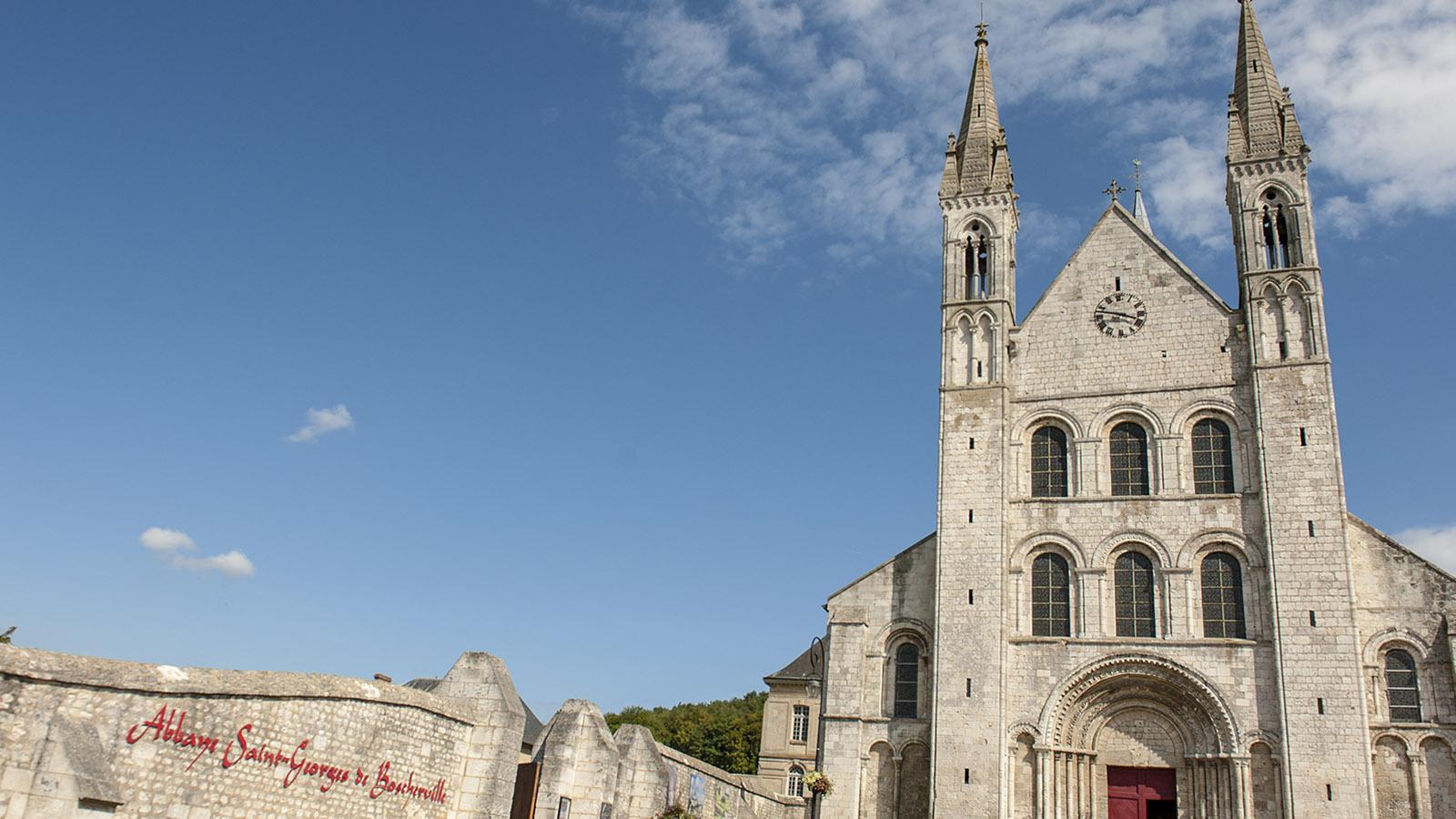 Abteien der Normandie: St-Martin-de-Boscherville: Klostergarten. Foto: Hilke Maunder