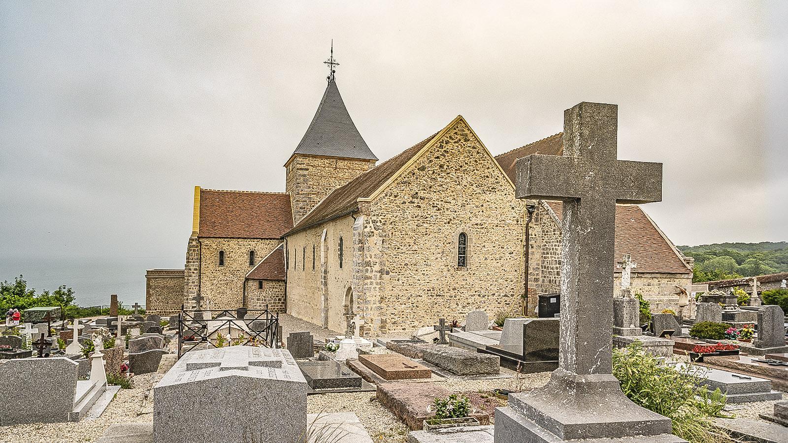 Der Seemannsfriedhof von Varengeville-sur-Mer. Foto: Hilke Maunder