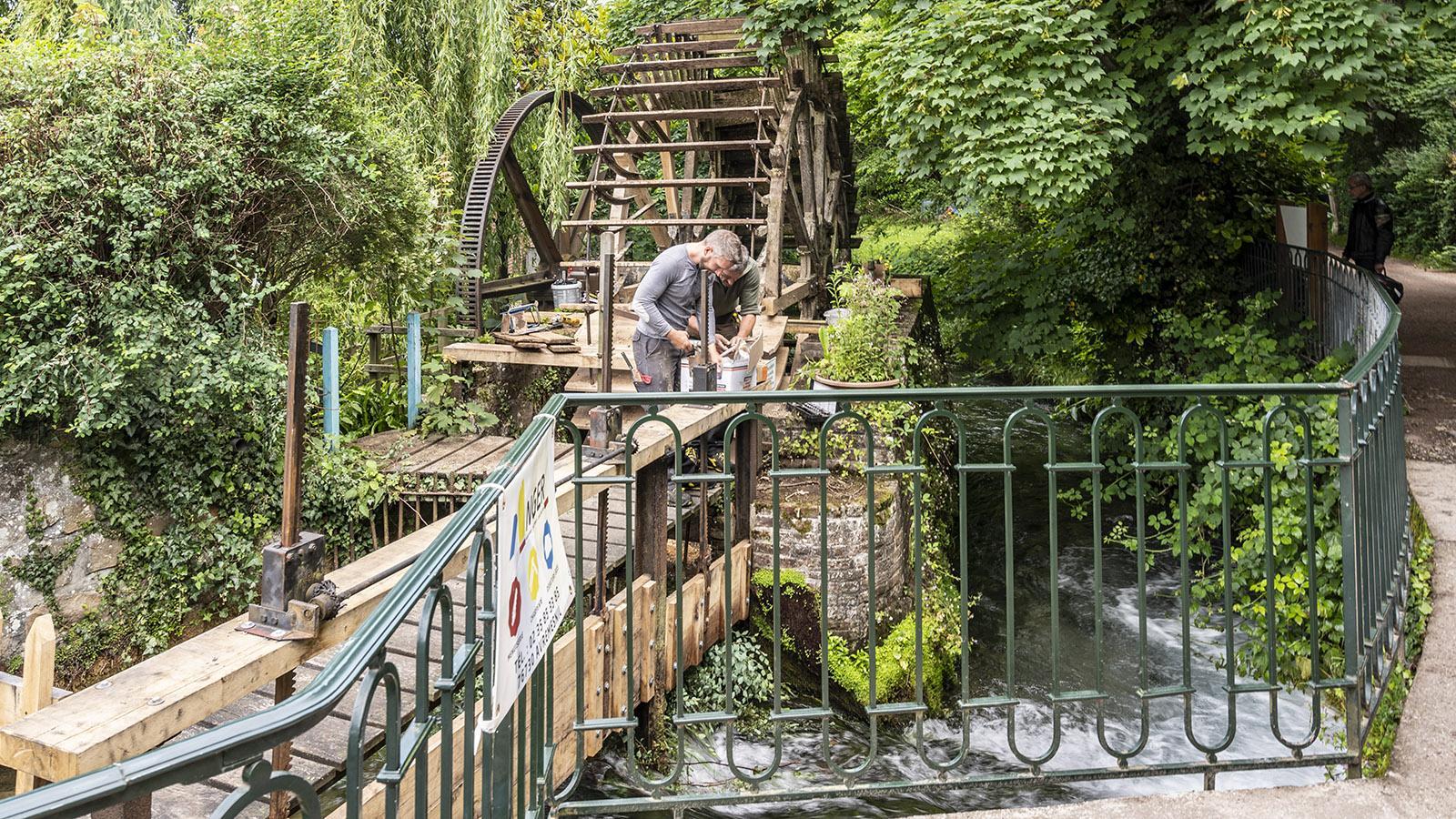 Eine der Mühlen von Veules-les-Roses. Foto:; Hilke Maunder