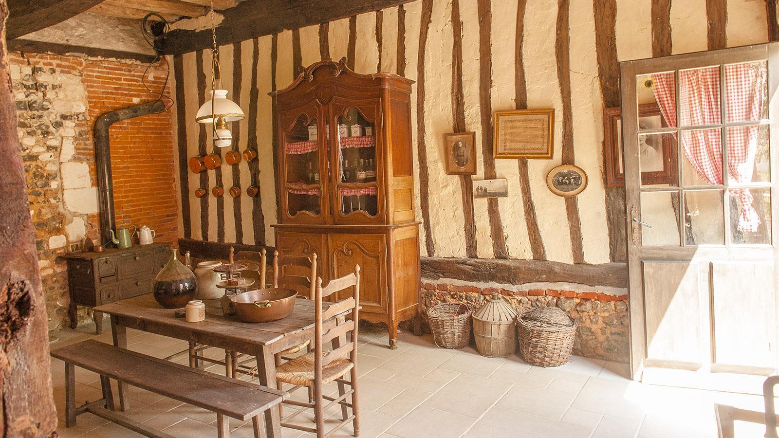 Boeuf Cidré: Auf dem Hof hat Familie Craquelin ihre bäuerliches Erbe bewahrt - und zeigt es gerne Besuchern. Foto: Hilke Maunder