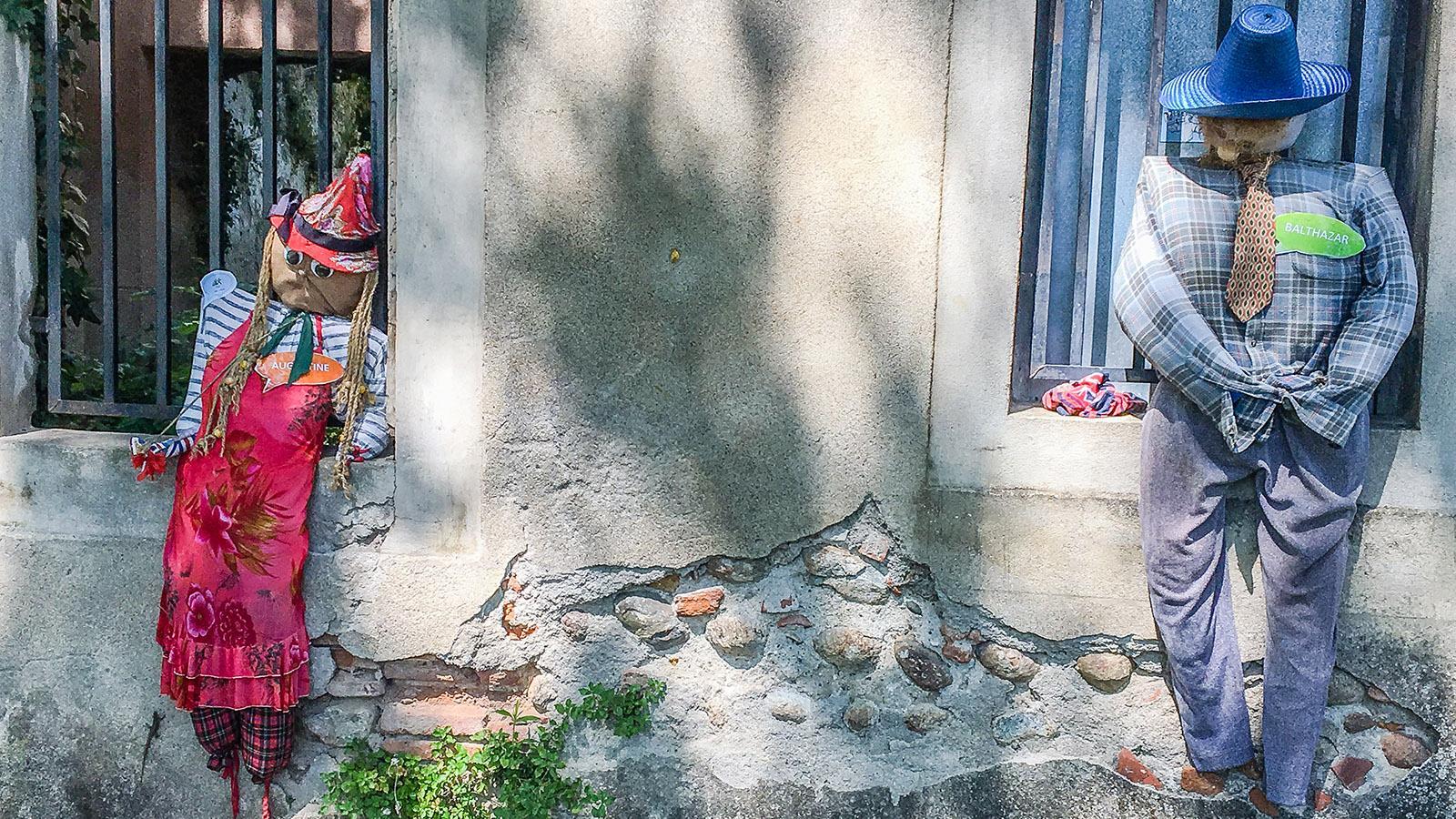 Pamiers: der Friedhof der Vogelscheuchen. Foto: HIlke Maunder