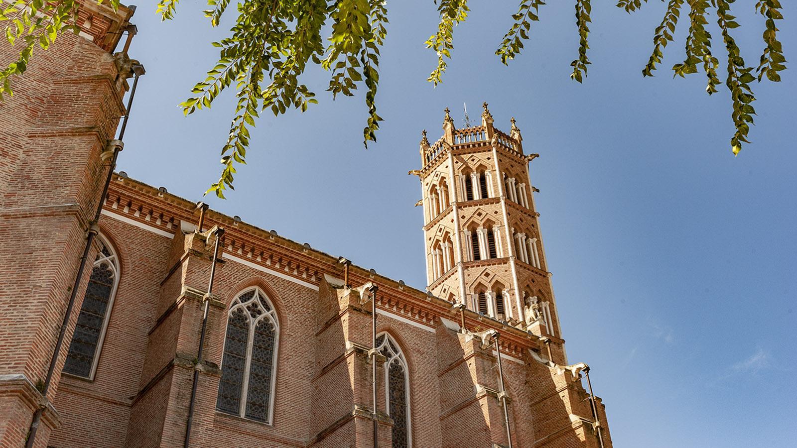 Pamiers: die Kathedrale Saint-Antonin. Foto: Hilke Maunder