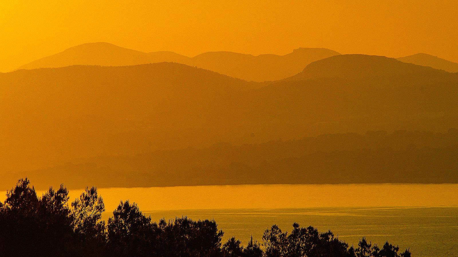 Saint-Cyr: Ungeschönt - der Sonnenuntergang. Foto: Hilke Maunder