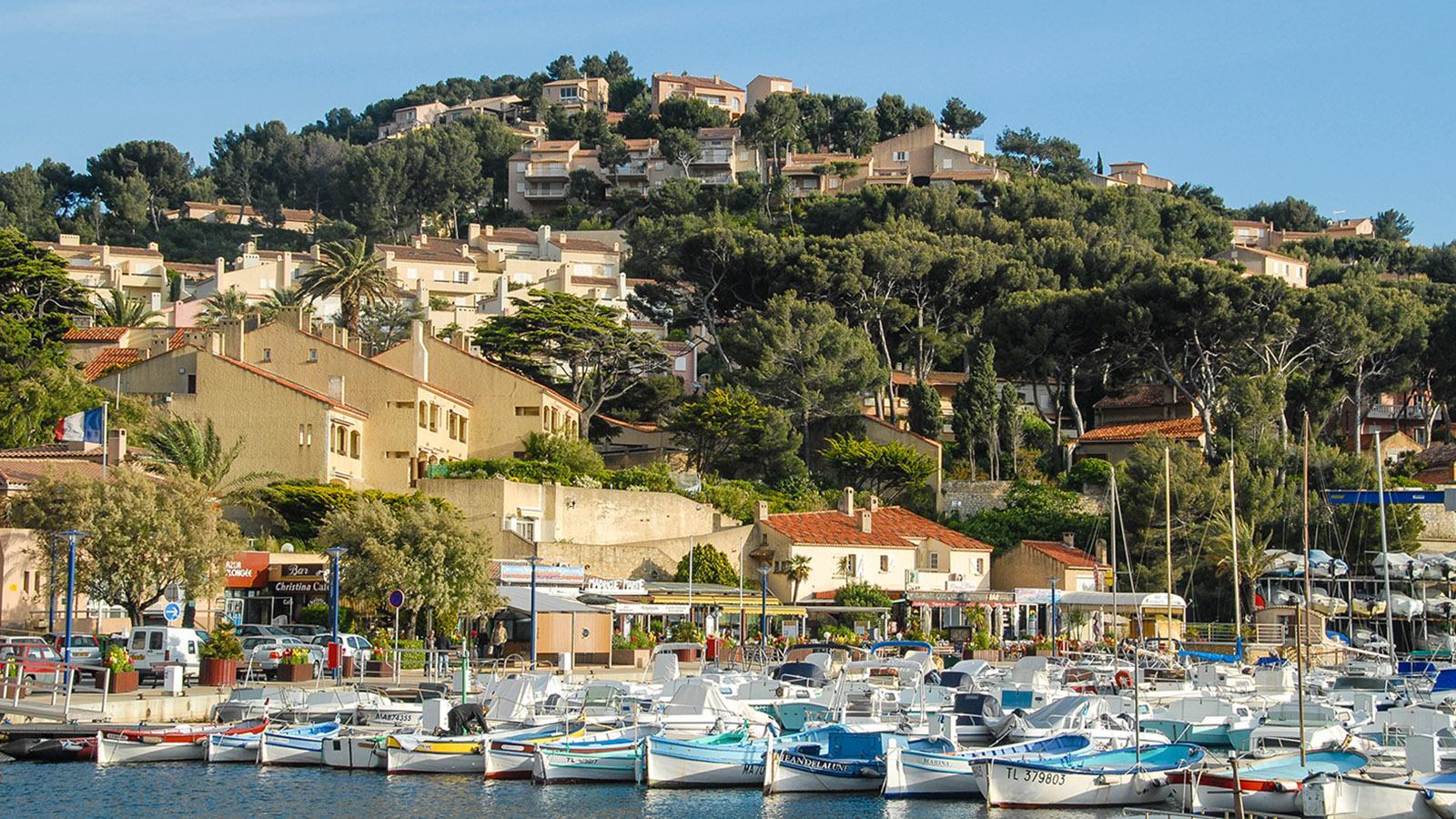 Saint-Cyr: der kleine Hafen. Foto: Hilke Maunder
