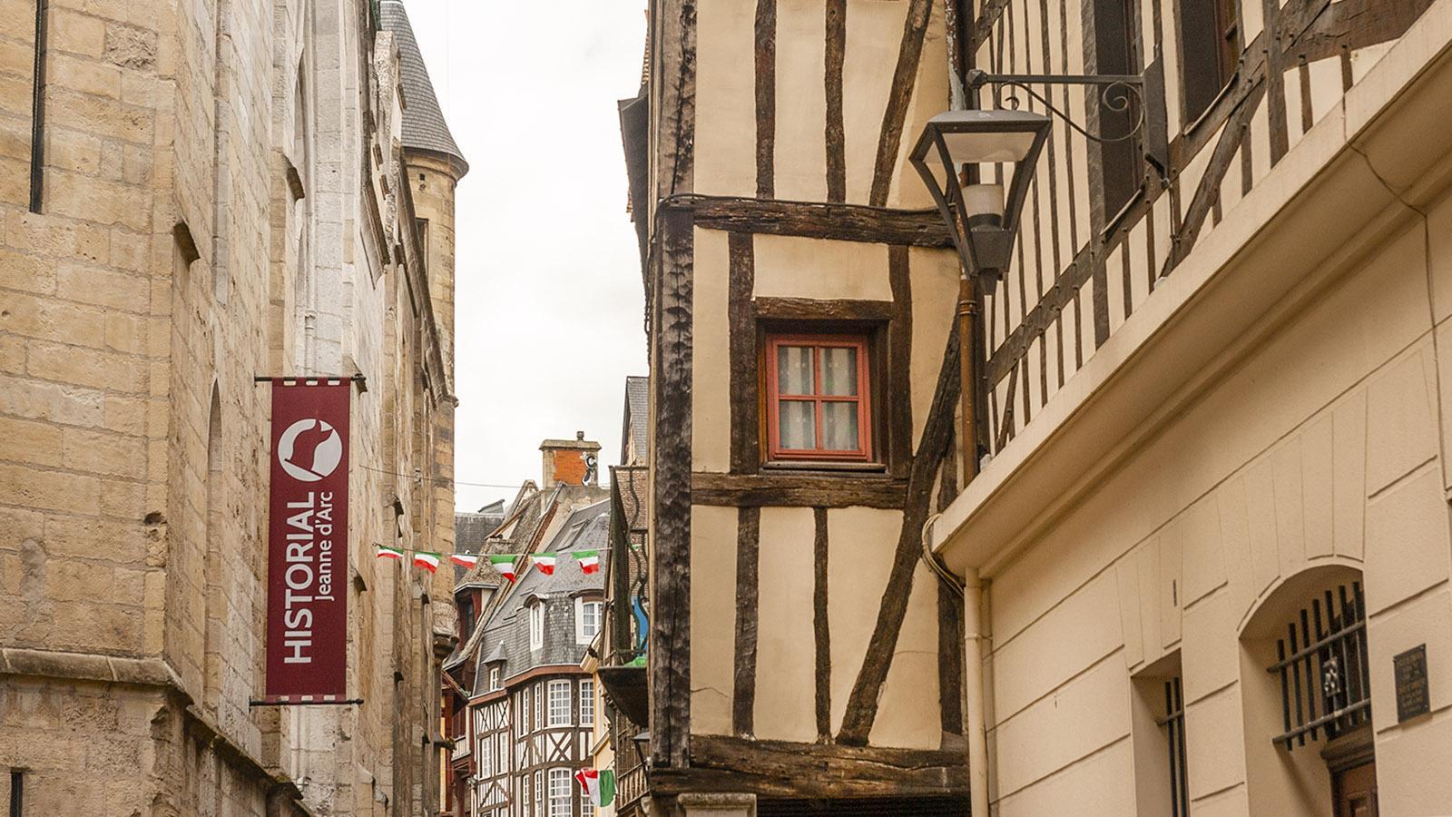 Rouen: L'Historial de Jeanne d'Arc. Foto: Hilke Maunder