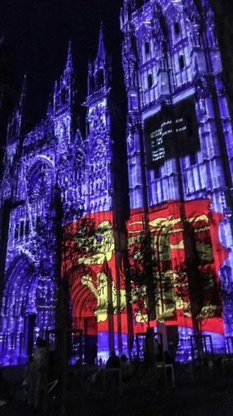 F_Rouen_Kathedrale_Lichtershow_1_credits_Hilke Maunder