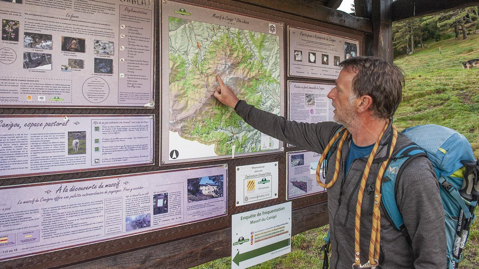 Canigo: Antoine Fenegh, Wanderführer von Altitude 66 aus Taurinya. Foto: Hilke Maunder