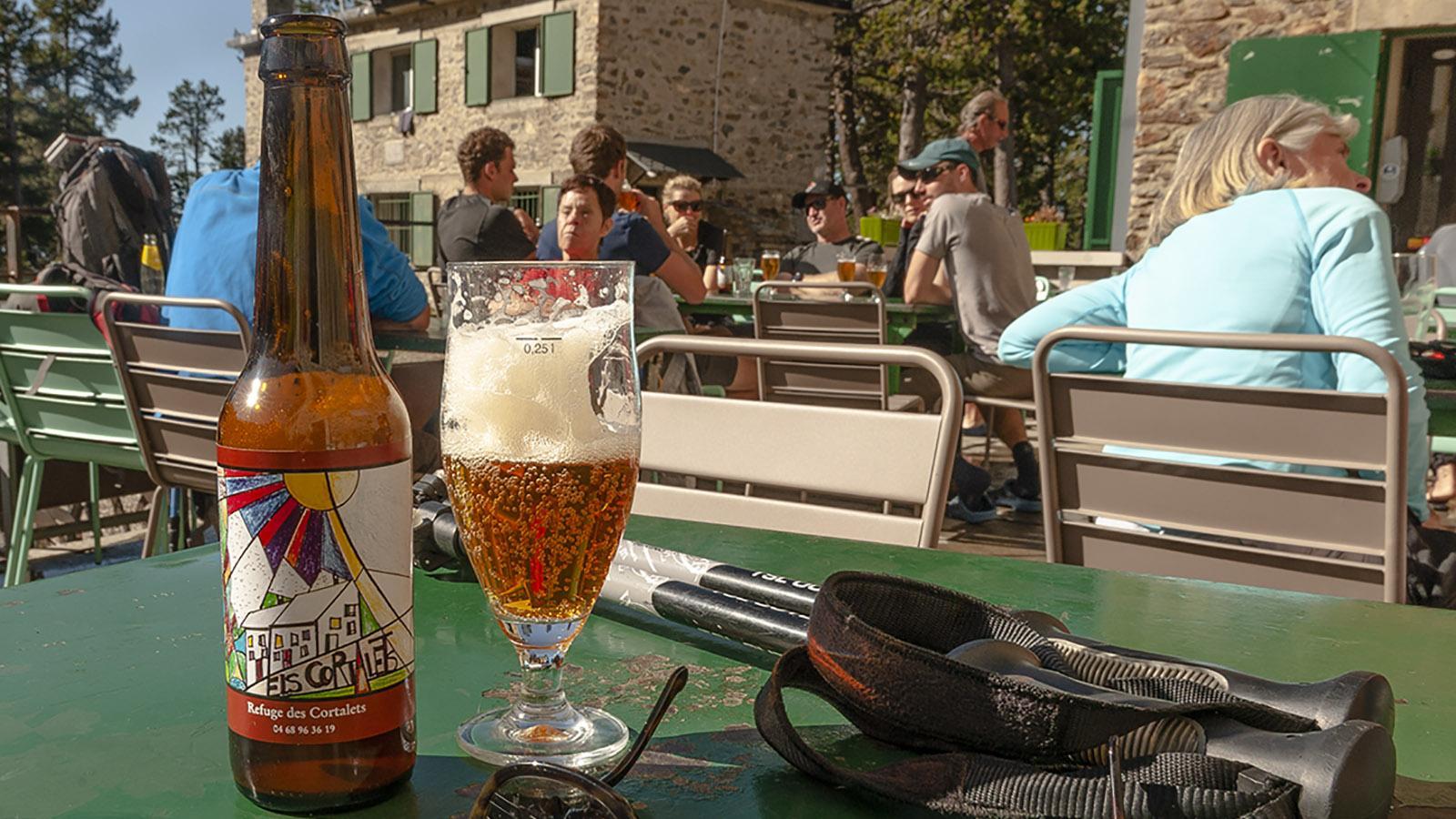 Canigou: Els Cortalets – das Craft Beer des Massivs. Foto: Hilke Maunder