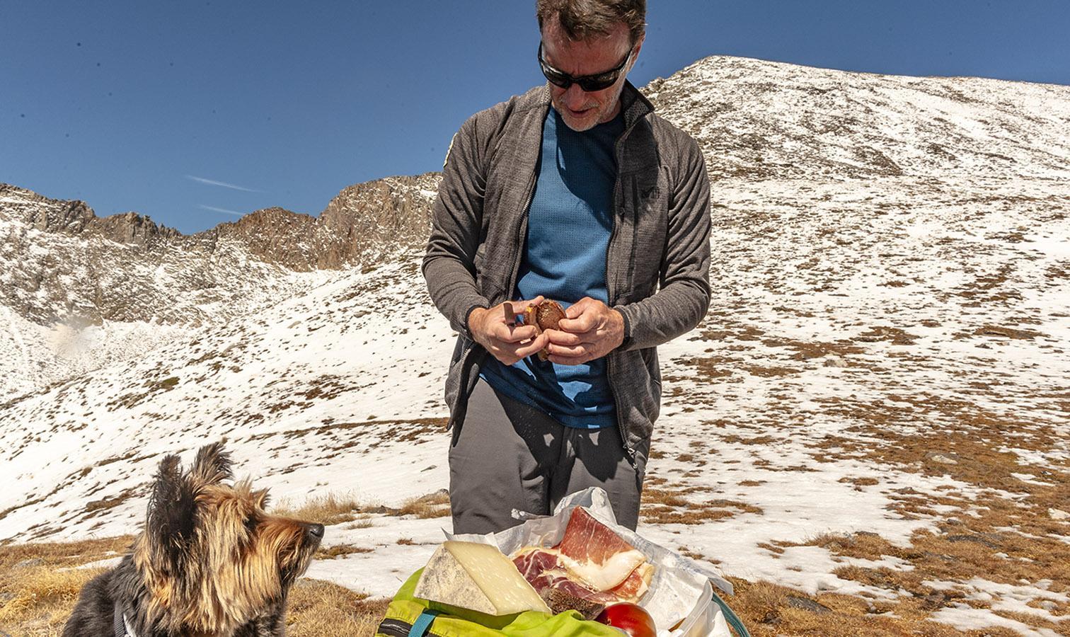 Canigó: Picknick an der Crête du Barbet. Foto: Hilke Maunder