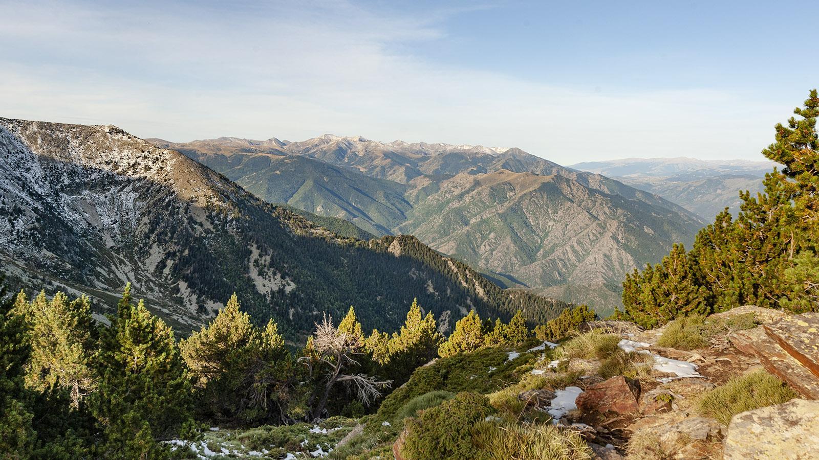 Canigó: der Pyrenäenblick vom Pic Joffre. Foto: Hilke Maunder
