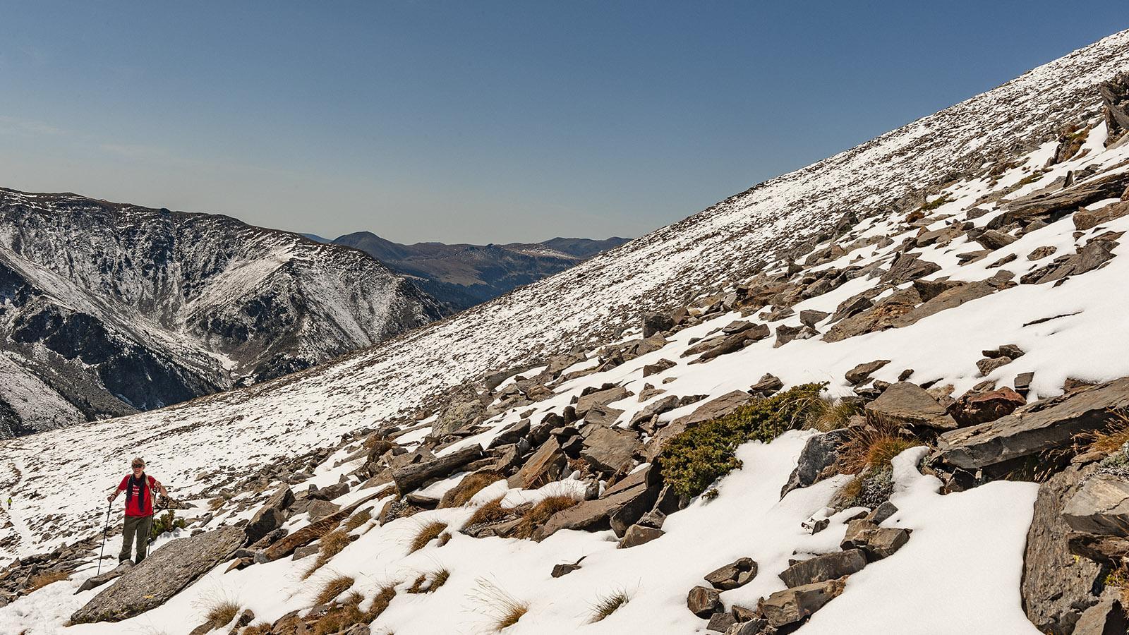 Canigó: Aufstieg zur Porteille de Valmanya. Foto: Hilke Maunder
