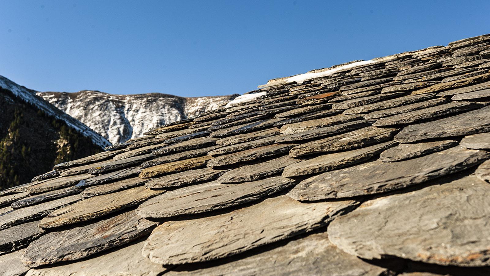 Canigó: das Dach der Arago-Hütte. Foto: Hilke Maunder